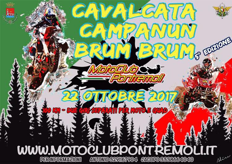 Motoraduno e Quad raduno Campanun Brum Brum