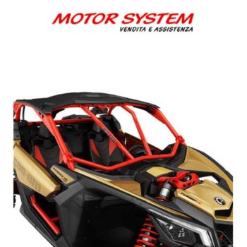 Barra antintrusione anteriore Can Am Maverick X3