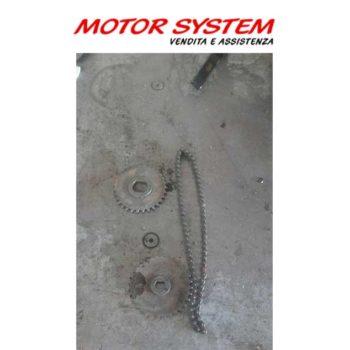 Ingranaggi e catena pompa olio CF Moto/ WT Motors