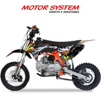 Pitbike LEM CRZ 125cc 14/12 bianco